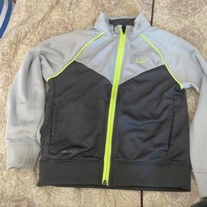 Nike dry fit kid's jersey jacket